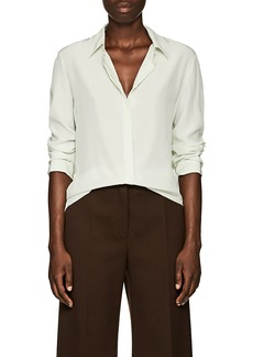 The Row Women's Petah Silk Crêpe De Chine Blouse