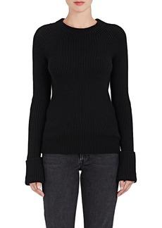 The Row Women's Sabra Chunky Rib-Knit Wool Sweater