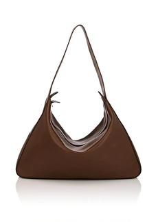 808cf2a91a The Row Women s Saddle Leather Hobo Bag - Brown