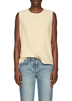 The Row Women's Shelly Silk Top