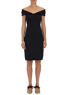 The Row Women's Shelmi Neoprene Off-The-Shoulder Dress