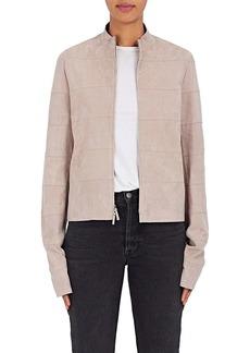 The Row Women's Sonra Suede Zip-Front Jacket