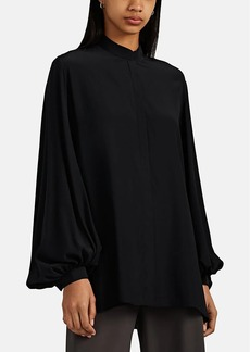 The Row Women's Vara Silk Blouse