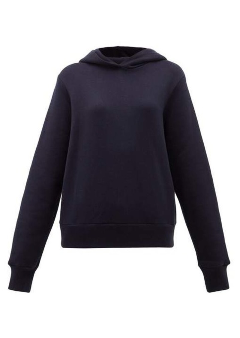 The Row Wren cotton-terry hooded sweatshirt