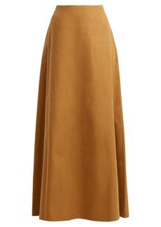 The Row Zivi straight maxi skirt