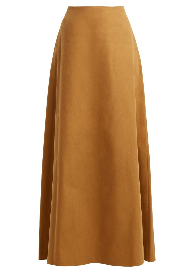 16d712ede9 The Row The Row Zivi straight maxi skirt | Skirts