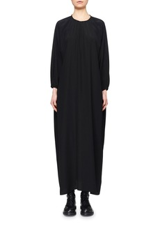 The Row Theo Compact Crepe Maxi Dress