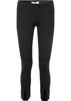 The Row Thilde Stretch-cady Straight-leg Pants