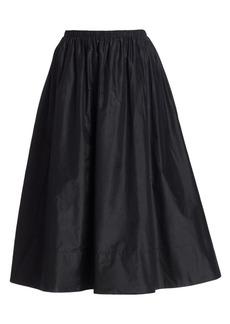 The Row Tilia Silk A-Line Skirt