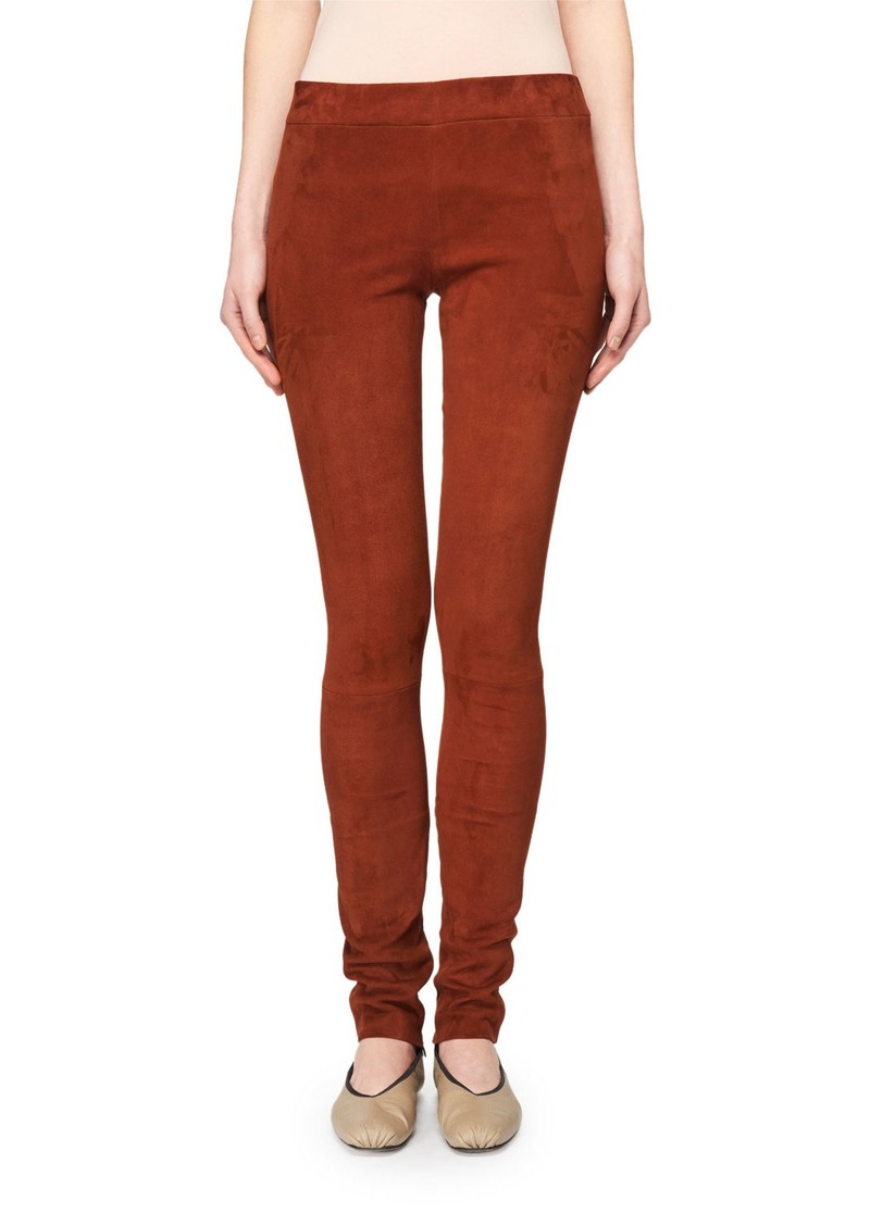 The Row Tomo Suede Leggings