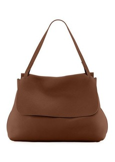 The Row Top-Handle 14 Satchel Bag in Lux Grained Leather