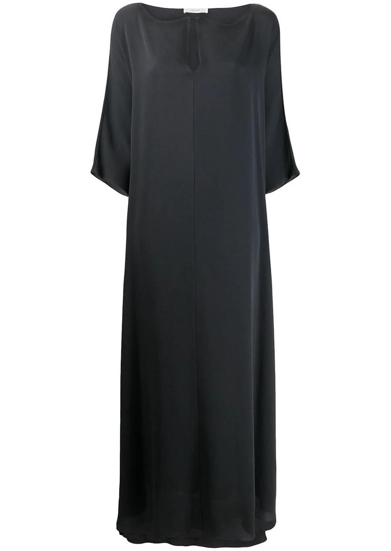 The Row v-neck silk dress