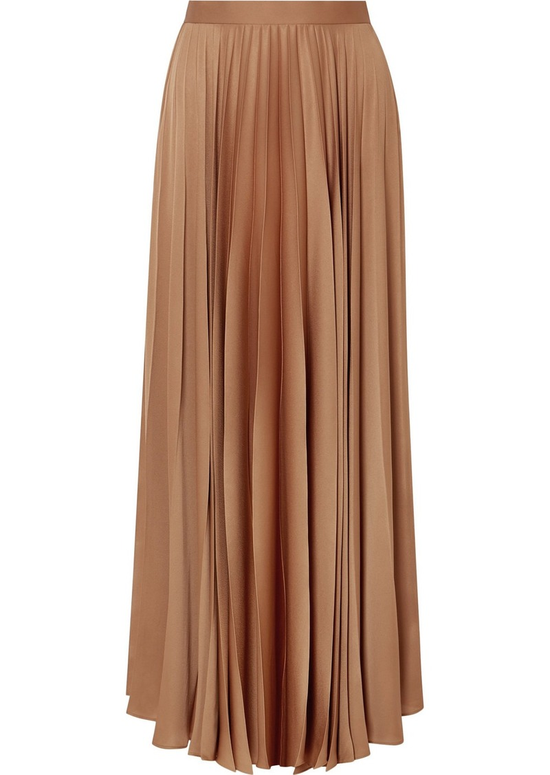 7e06dee3cf The Row Vailen Pleated Crepe De Chine Maxi Skirt | Skirts