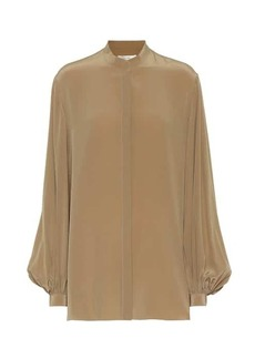 The Row Vara silk blouse
