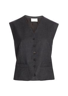 The Row Vega Wool Vest
