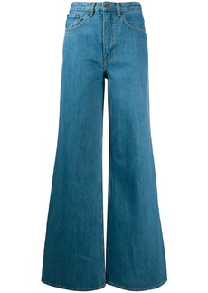 The Row wide-leg trousers