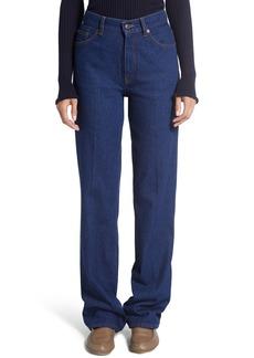 Women's The Row Carlton Extra Long Straight Leg Jeans
