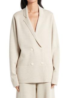 Women's The Row Chopok Wool & Silk Jacket