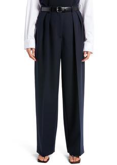 Women's The Row Igor Stretch Wool Pants
