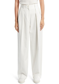 Women's The Row Igor Washed Cotton Pants