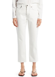 Women's The Row Lesley Straight Crop Jeans