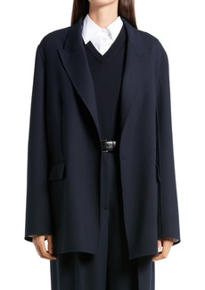 Women's The Row Tristan Double Breasted Wool Jacket