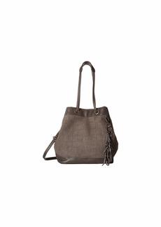 The Sak Castella Leather Drawstring Bucket