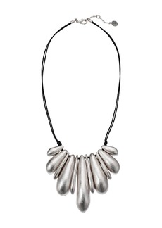 The Sak Nugget Frontal Necklace 18""