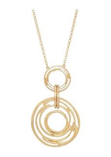 "The Sak Orbit Pendant Necklace 28"""