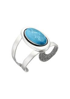 The Sak Oval Stone Cuff Bracelet