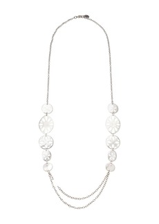 """The Sak Perforated Strand Necklace 30"""""""