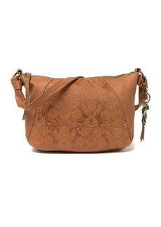 The Sak Rialto Embossed Leather Shoulder Bag