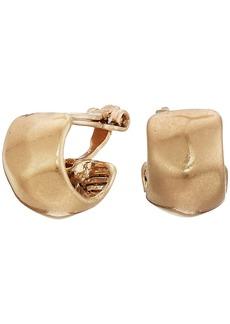 The Sak Small Wide Hoop Clip Earrings