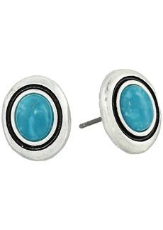 The Sak Stone Stud Earrings