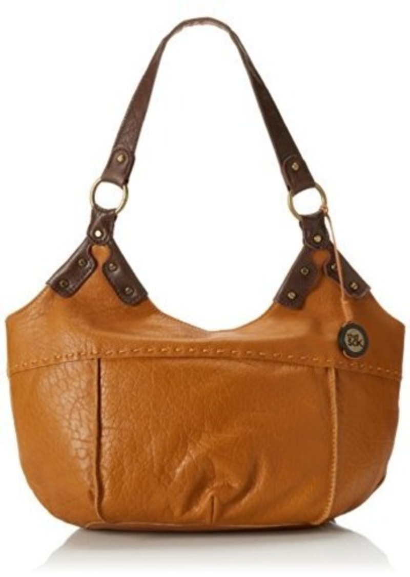 The SAK Indio Satchel Top Handle Bag, Ochre, One Size