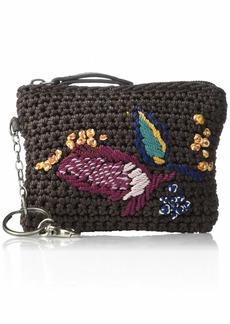 the sak Iris Crochet Card Wallet