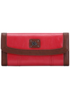 The Sak Iris Leather Flap Wallet