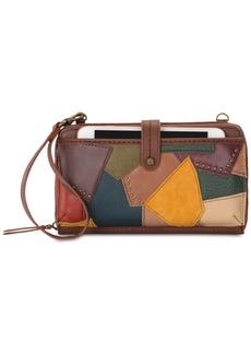 The Sak Iris Patchwork Leather Crossbody Phone Wallet