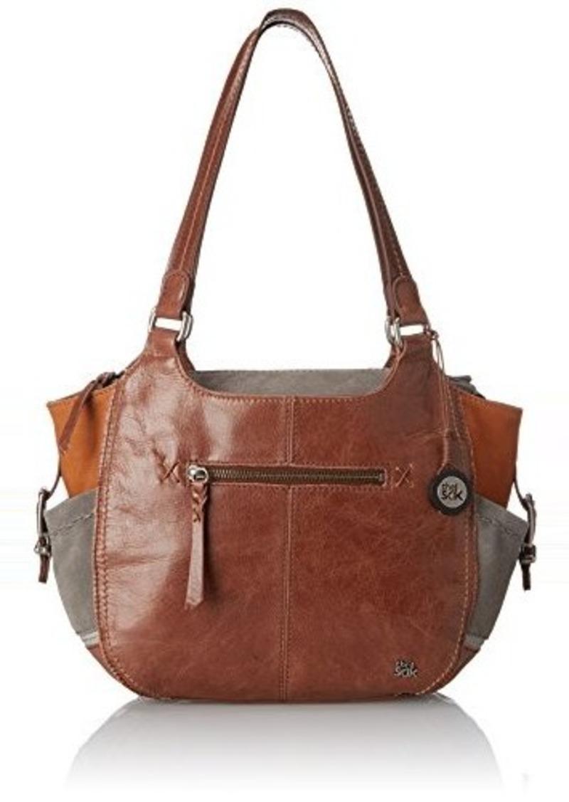 The Sak Kendra Satchel Bag, Teak Patch, One Size