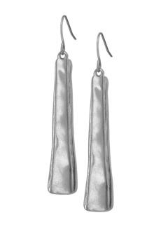 The Sak Layered Paddle Drop Earrings