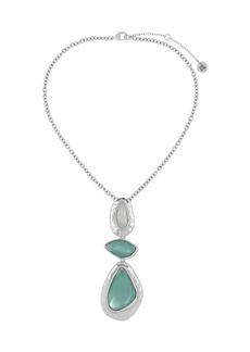 The Sak Multi-Stone Y-Necklace