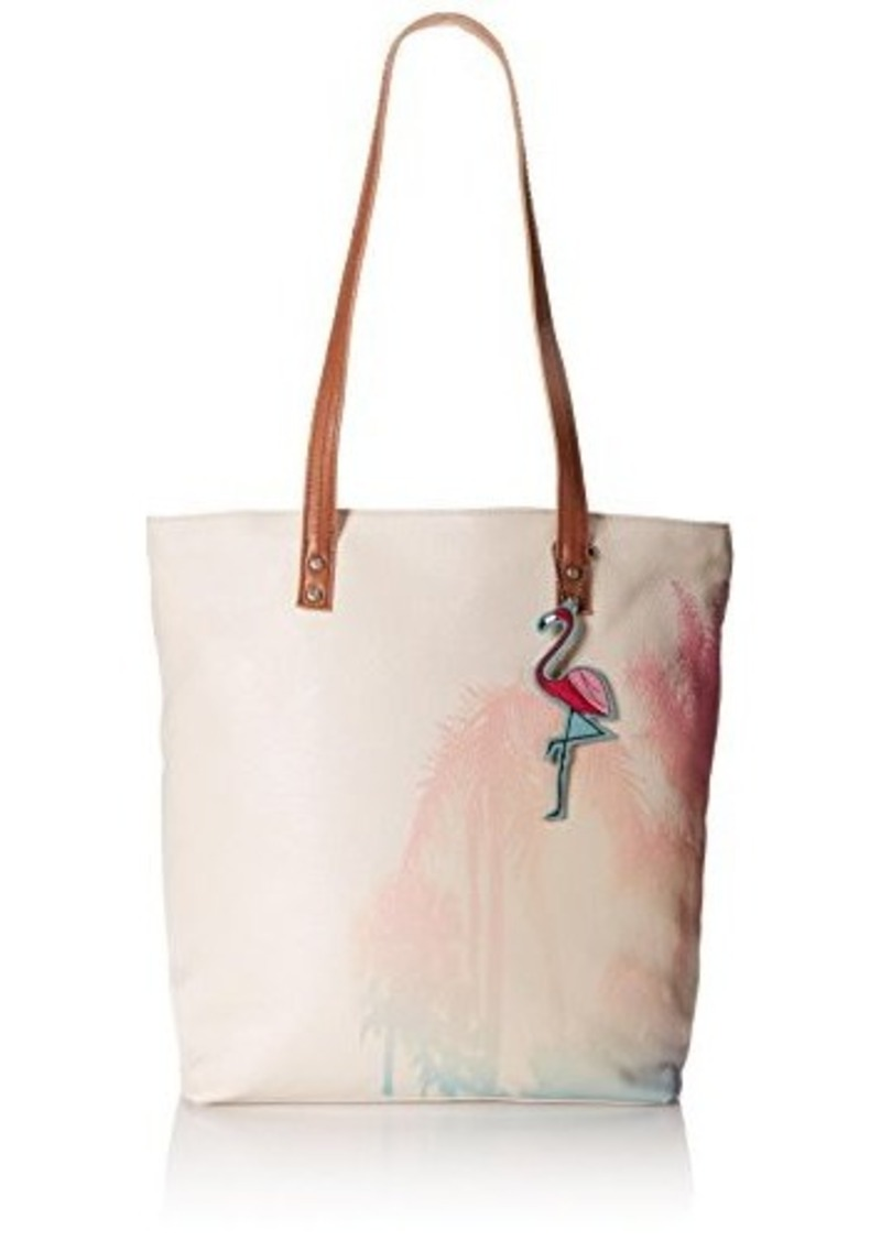 The Sak Palisade Tote,Painted Palm,One Size