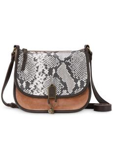 The Sak Playa Leather Saddle Bag