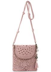 The Sak Sayulita Crochet Flap Crossbody
