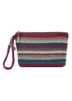 The Sak Sayulita Crochet Wristlet