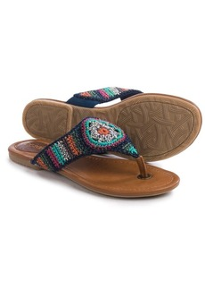 The Sak Shana Crochet Flip-Flops (For Women)