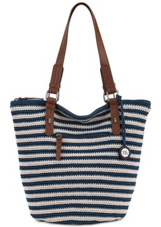 The Sak Silverwood Crochet Shopper Tote, a Macy's Exclusive Style