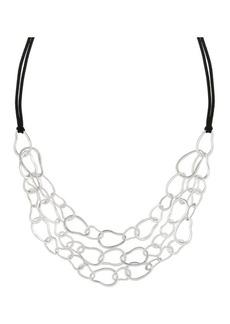 The Sak Triple Row Link Necklace