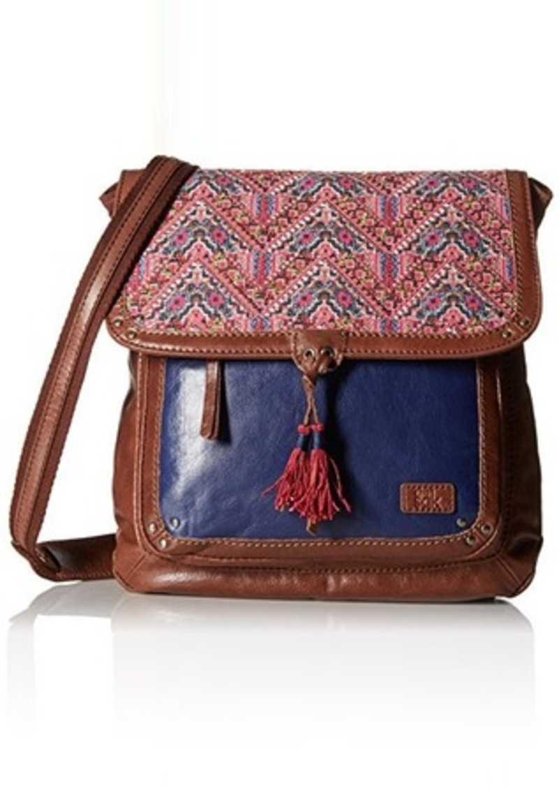 The Sak Ventura Fashion Backpack, Pink Embroidery, One Size