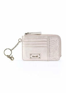 the sak womens Women's Iris Leather Card Wallet   US